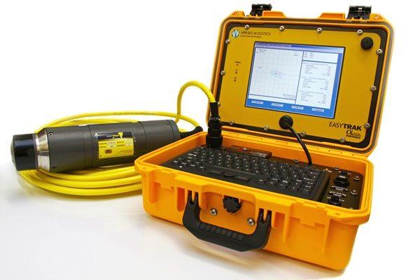 ROV 추적용 수중 음향 위치 추적 USBL 납품