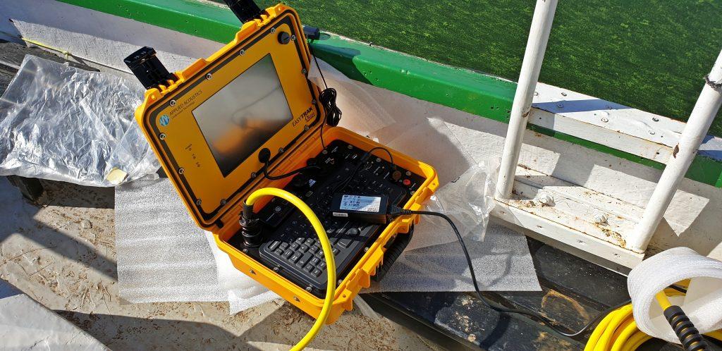 태광상역과 USBL을 제조하는 해양 음향 기술 회사인 Applied Acoustics Engineering은 국내 수중로봇 제작 업체에 수중 로봇 (ROV) 을 추적할 수 있는 수중 음향 위치 시스템 (USBL)을 납품과 교육을 지원하였습니다.